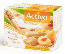 Acheter Biscuits sans sucre Activa Abricot