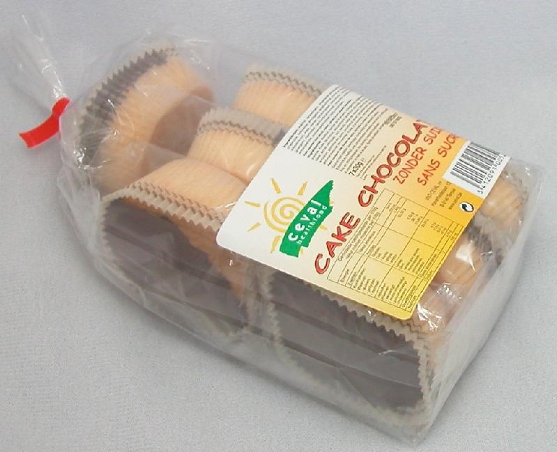 Acheter Cake au chocolat Sans sucre ajouté (7 x 30 g)