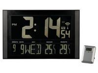Acheter Horloge murale DCF grand format à affichage en négatif