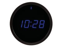 Acheter Horloge murale avec affichage led - ø25cm - bleu