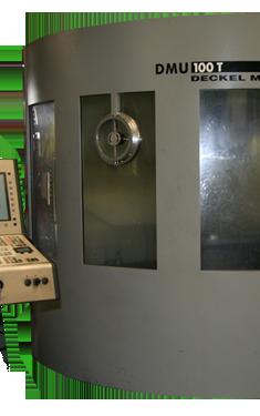 Acheter Deckel-Maho DMU 100 - T Grande fraiseuse CNC polyvalente 5 axes