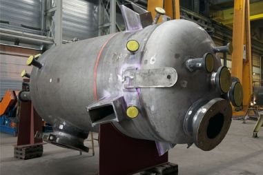 Acheter Separator system and catalyst fines hopper 3rd and 4th stage