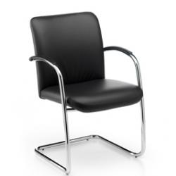 Acheter Chaise de conférence empilable avec accoudoirs Komma