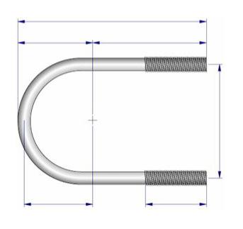 Acheter Steel U-bracket