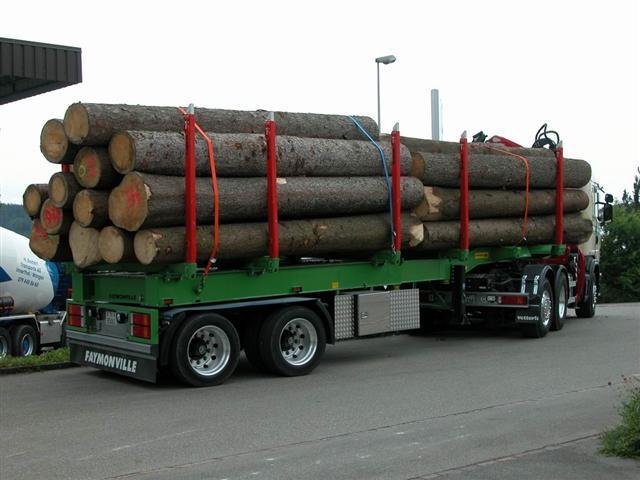 Acheter Semi-remorque Timbermax