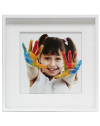 Acheter Рicture frame white with wooden mount, for 1 photo S43ZP1
