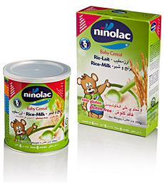 Acheter Céréales riz et lait Ninolac