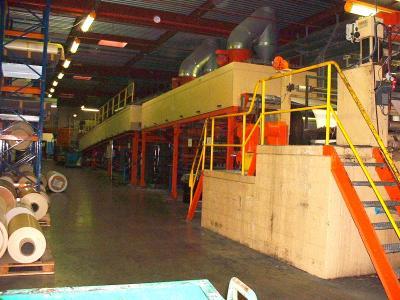 Acheter Supervision d'un four pour production en continu de matières plastiques