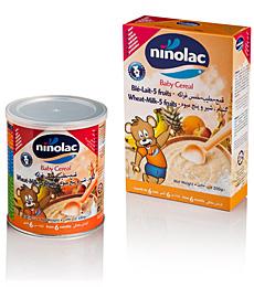 Acheter Céréales Ninolac blé, lait et 5 fruits