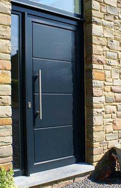 Portes en bois et aluminium buy portes en bois et for Prix porte d entree alu