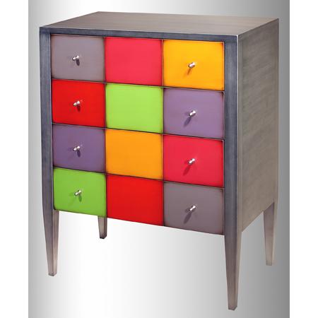 Acheter Commode multicolore design