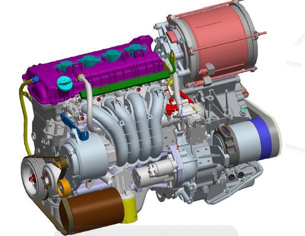 Acheter Transmission for Front Wheel Drive Hybrid Powertrains HT1
