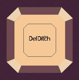 Acheter Tables de poker Del Ditch Compact