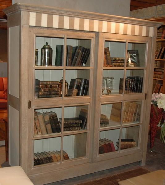 Acheter Bibliothèque portes coulissantes