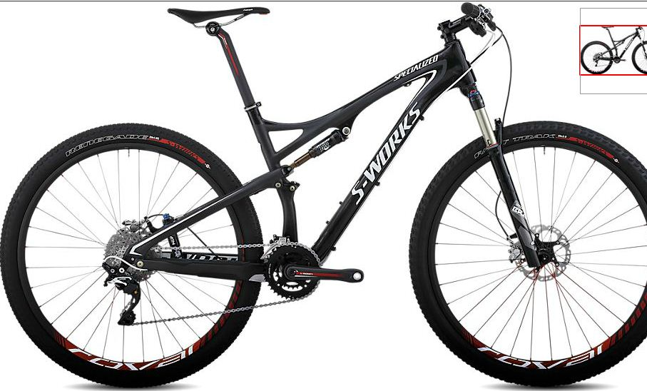 Vélo Specialized Cross-CountryS-Works Epic Carbon 29 XTR