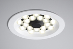 Downlights. Round - fixed