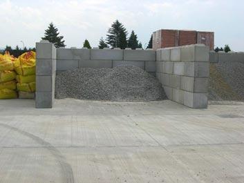 Acheter Concrete elements for storage facilities