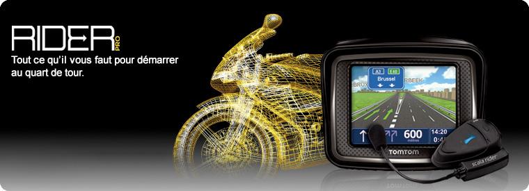 Acheter Navigation pour moto Rider Pro Europe