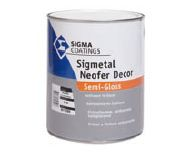 Peinture semi-brillante antirouille Sigmetal Neofer Decor