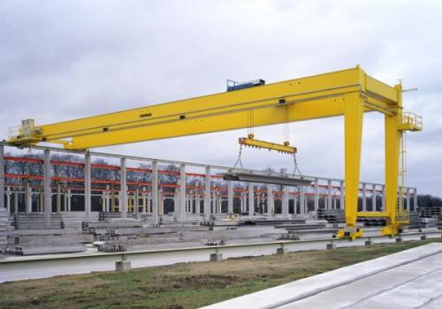 Custom overhead cranes and gantry cranes are