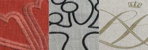 Acheter Embroidery on fabrics