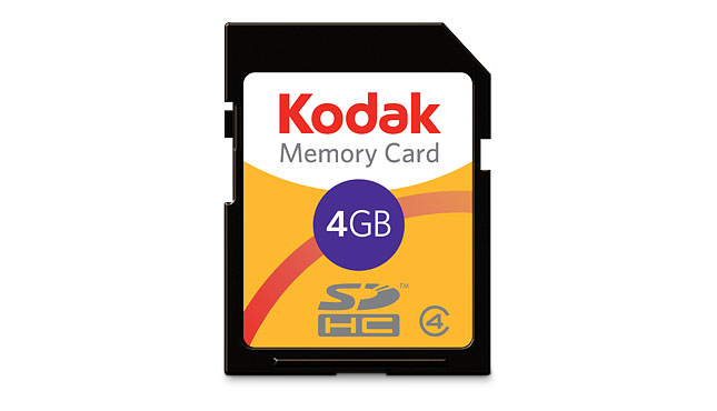 Acheter Carte mémoire SDHC KODAK / 4 Go