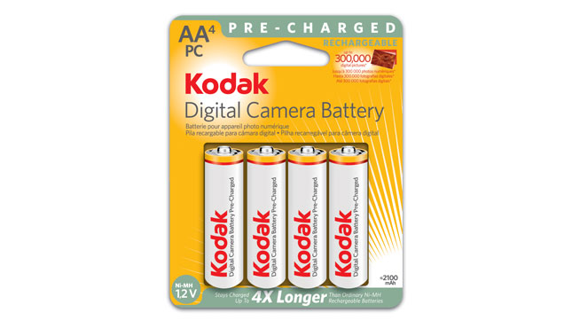 Acheter Batteries KODAK AA Ni-MH préchargées pour appareil photo numérique