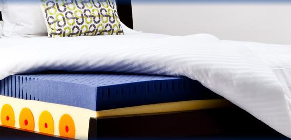 Polyester fiber for the bedding industry