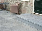 Acheter Carrelage en pierre pour les patios et les allées. Tuiles en pierre bleue, pierre bleue ou le granit.