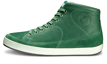 Sneakers Fitflop Supertop grass green