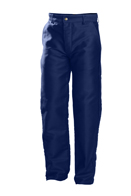 Acheter Pantalon Meca cuir bleu