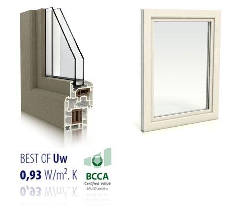 Acheter Fenêtres PVC design plat
