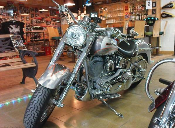 Acheter Moto Harley-Davidson Fat-Boy C.V.O