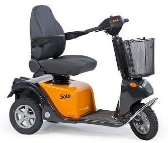 Scooter with exceptional suspension system