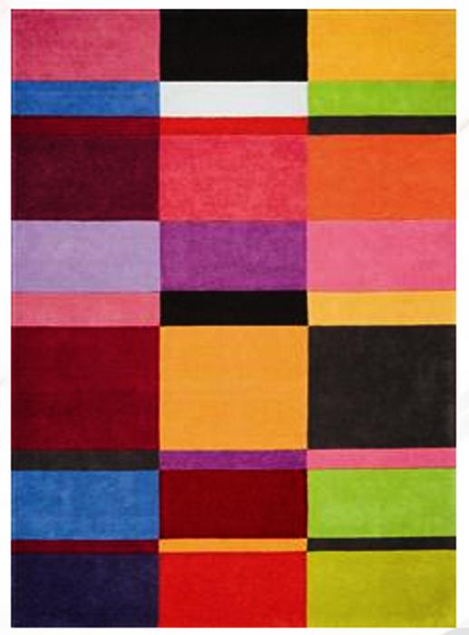 Acheter Woolen tufted rug Love