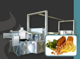 Acheter A deep-frying line from Gernal