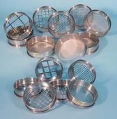 Acheter Sieves with woven wire mesh or perforated plate square holes.