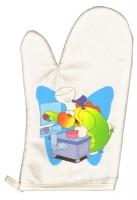 Acheter Manique/gant de cuisine Doudou: Dragon cuisinier