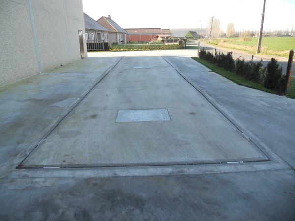 Acheter Concrete weighbridge in 2 pieces