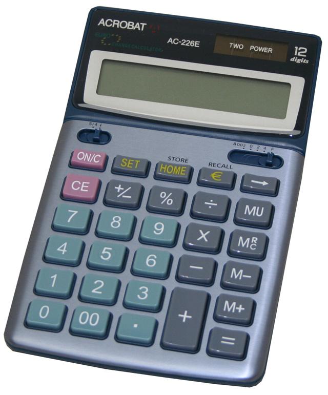 Acheter Calculatrice de bureau Acrobat AC-226
