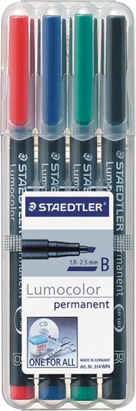 Acheter Feutre permanent Staedler Lumocolor biseau (étui)