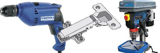 Acheter Drillmatic:Systèmes de perçage pour charnières et poignées. Drillmatic