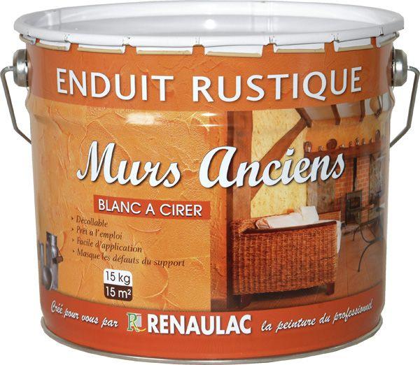 Enduit Décoratif Mural Intérieur Rustique MURS ANCIENS