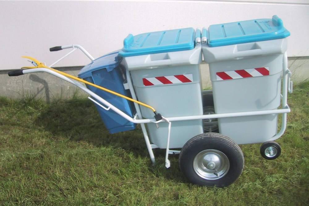 Acheter Chariot à conteneurs jumelés