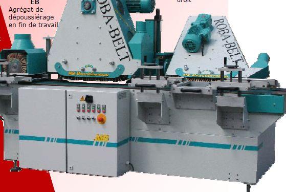 Acheter Ponceuse verticale Mb Maschinenbau Roba-Belt