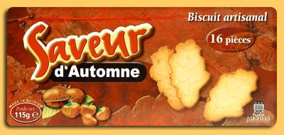 Acheter Biscuits Saveur d'automne