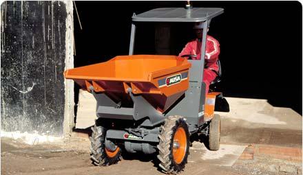 Acheter Mini dumper Ausa 1500 – 1750 kgs.