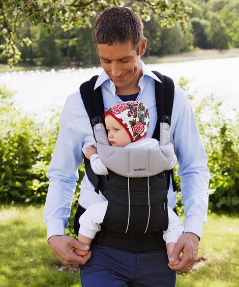 Acheter Porte-bébé BabyBjörn MiracleCoton doux mélangé