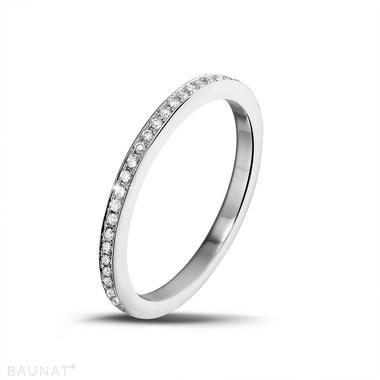 Acheter Bague Alliance Diamant Diamants 0.22 carats
