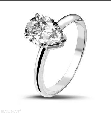 Acheter Bague Solitaire Diamant 2.00 carats